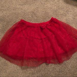 Sparkly red tutu